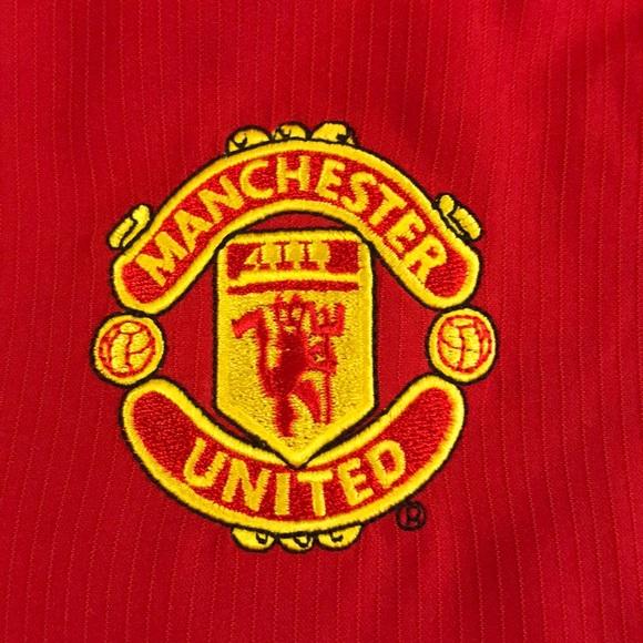 Nike Shirts Manchester United Soccer Jersey Red White Poshmark